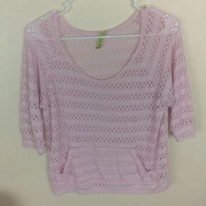 Free society knit top Shirt Blouse A42